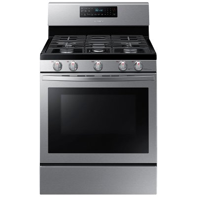 NX58R5601SS Samsung Gas Convection Range - Stainless Steel