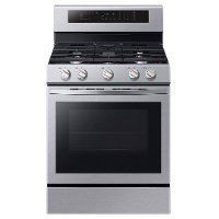 NX58R6631SS Samsung 30 Inch Gas Convection Range - 5.8 cu. ft. Stainless Steel