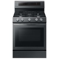 NX58R6631SG Samsung 30 Inch Gas Convection Range - 5.8 cu. ft. Black Stainless Steel
