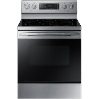 NE59R4321SS Samsung 30 Inch Electric Convection Range - 5.9 cu. ft. Stainless Steel