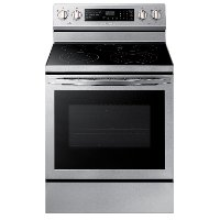 NE59R6631SS Samsung Electric Convection Range - Stainless Steel