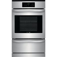 FFGW2426US Frigidaire 24 Inch Gas Single Wall Oven - 3.3 cu. ft. Stainless Steel