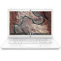 HP CHROMEBOOK 14-DB0030NR HP 14-Inch Chromebook 4GB RAM, 32GB eMMC, A4 - White