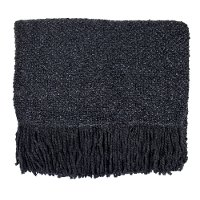 Charcoal Campbell Throw Blanket