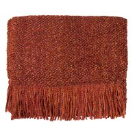 Orange Spice Campbell Throw Blanket