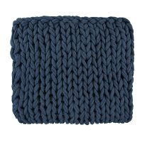 Denim Blue Delray Throw Blanket