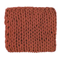 Sienna Rust Delray Throw Blanket