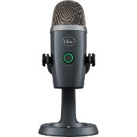 BLUE MICROPHONE YETI NANO/SHADOW GREY Blue Designs Yeti Nano Premium USB Microphone - Gray