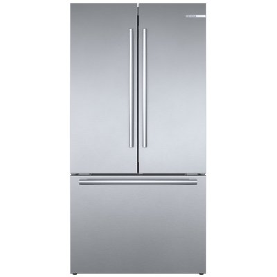 B36CT80SNS Bosch Counter Depth French Door Smart Refrigerator - 21 cu. ft., Stainless Steel