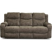Casual Contemporary Mink Power Reclining Sofa - Marvel