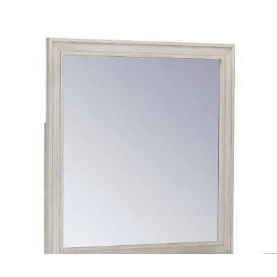 Traditional White Mirror - Sarah