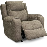 Mink Power Rocker Recliner - Marvel