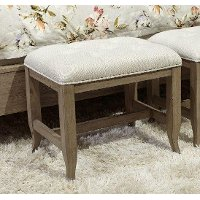 Traditional Oat Beige Bench - Provence