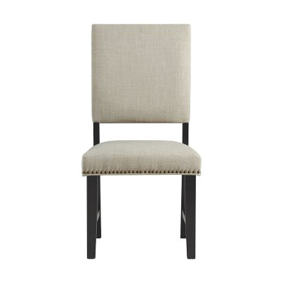 Beige Upholstered Dining Room Chair - Maddox