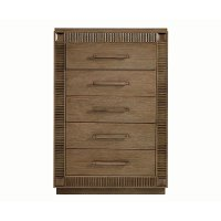 Contemporary Brown Chest of Drawers - Park Avenue