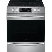 FGEH3047VF Frigidaire 30 Inch Electric Range with Air Fry - 5.4 cu. ft. Stainless Steel