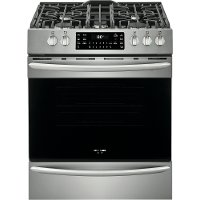FGGH3047VF Frigidaire Gallery 30 Inch Gas Range with Air Fry - 5.6 cu. ft. Stainless Steel