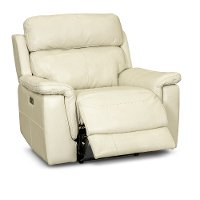 Pearl Leather-Match Power Recliner - Integrity