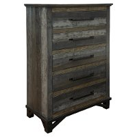 Rustic Gray Chest of Drawers - Loft