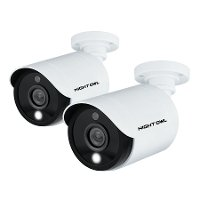 CAM-2PK-C20XL Night Owl Add–On 1080p HD Wired Cameras with Built-in Spotlights (2-pack)