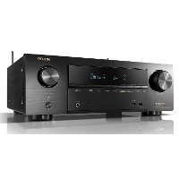 AVR-X1600H Denon 4K Ultra HD 7.2 Channel AV Receiver with 80W per Channel AVR-X1600H
