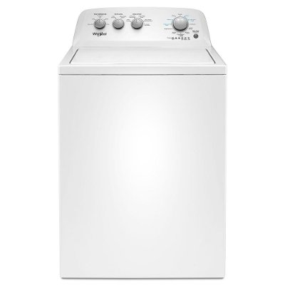 WTW4850HW Whirlpool Top Load Washer with Soaking Cycles - 3.9 cu. ft. White