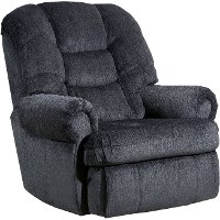 Charcoal Gray Big and Tall Power Rocker Recliner - Torino