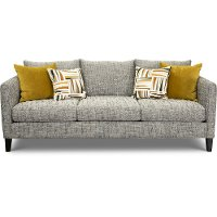 Contemporary Charcoal Gray Sofa - Kate