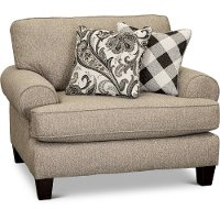 Casual Traditional Light Gray Chair - Shadowfax