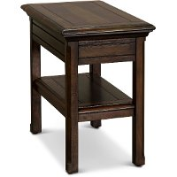 Burnished Brown End Table - Jamestown