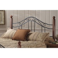 KIT Traditional Black and Brown Full-Queen Headboard - Madison