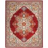8 x 10 Large Persian Red Area Rug - Majestic