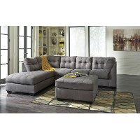 Gray 2 Piece Sectional Sofa with LAF Chaise - Maier