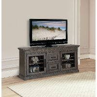 Smokey Gray 76 Inch TV Stand - Sundance