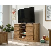 Brown Contemporary 60 Inch TV Stand - Cannery Bridge
