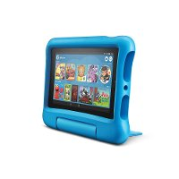 B07H8WS1FT Amazon Fire 7 Kids Edition Tablet 7  Display 16GB - Blue