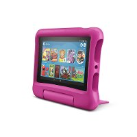 B07H8ZCSL9 Amazon Fire 7 Kids Edition Tablet 7  Display 16GB - Pink