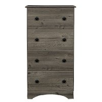 13234 Rustic Weathered Gray Chest of Drawers