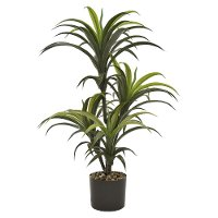 33 Inch Faux Yucca Green Tree Arrangement in Pot