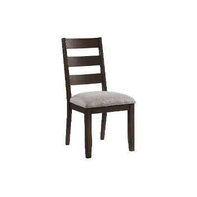Black and Brown Upholstered Dining Room Chair - Beacon