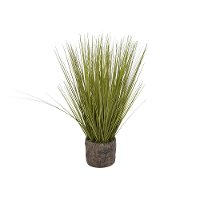 24 Inch Faux Grass Arrangement in Flower Pot