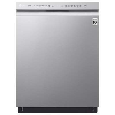 LDF5545SS LG Front Control Dishwasher with Quadwash - Stainless Steel