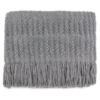 Silver Throw Blanket - Berkshire