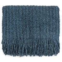 Bristol Blue Throw Blanket - Berkshire