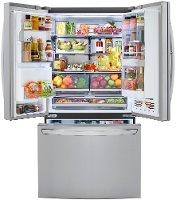 Lg 29 7 Cu Ft French Door In Door Smart Refrigerator