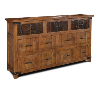 Rustic Pine Dresser - Big Timber