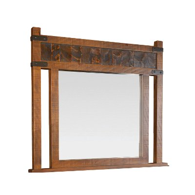 Rustic Pine Mirror - Big Timber