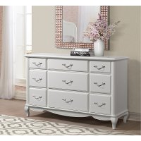 Traditional White Dresser - Kelly