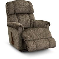 10-512/B169079 Casual Contemporary Mink Rocker Recliner - Pinnacle