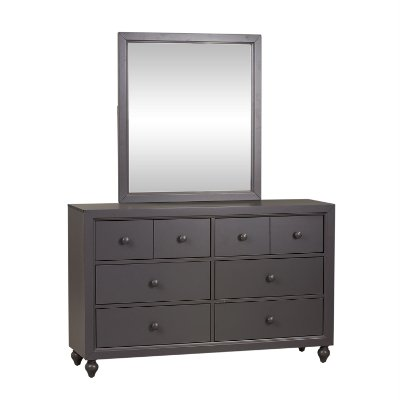 Country Gray Dresser - Cottage View